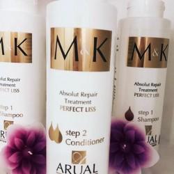 بلسم M&K الاسباني للعنايه بالشعر بعد البروتين والكرياتين M&K Absolut Repair Treatment conditioner STEP 2 - 400ml