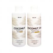 مجموعة شامبو وبلسم بالم بجوز الهند BALM coconut keratin shampoo & conditioner  2x250ml