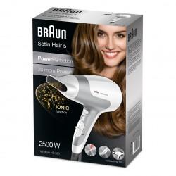 براون ساتين هير 5 Braun Satin Hair 5 HD580 Hair Dryer With Ionic Function