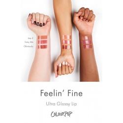 مجموعة ارواج الترا ليب قلوس فيلين الجميله كلربوب ColourPop Feelin Fine Lip Gloss