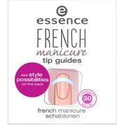 لاصقات المناكير الفرنسي ايسنس french manicure tip guides