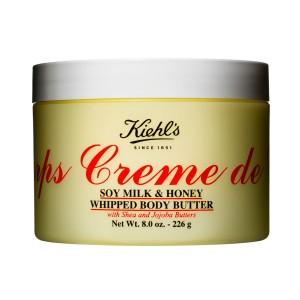 كريم الجسم بالعسل وحليب الصويا كيهلز Creme de Corps Soy Milk & Honey Whipped Body Butter 56g