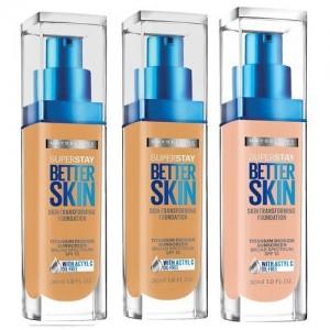 فاونديشن ميبلين سوبر ستاي SuperStay Better Skin Transforming Foundation
