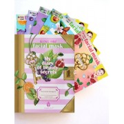 مجموعة ماسكات بيوتي سيكرت My Diary of beauty secrets facial Mask 25g each Contains 6 Fasial masks
