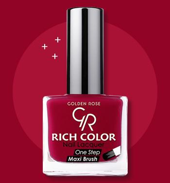 طلاء اظافر قولدن روز Golden Rose Rich Color Nail Lacquer