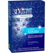 لصقات كرست فيفيد ثري دي Crest 3D White Classic Vivid Whitestrips Dental Whitening Kit 24 count