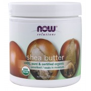 زبدة الشيا (Now Foods, Solutions, Shea Butter (Pure)- (207 ml