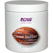 زبدة الكاكاو (Now Solutions Cocoa Butter (Pure). (207 ml